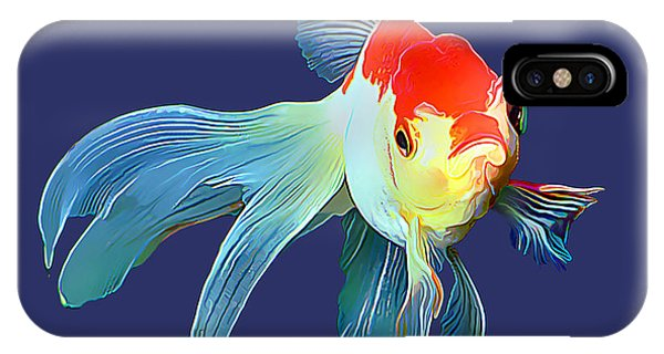 Fantail Goldfish IPhone Case