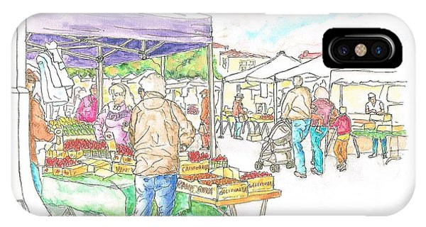 Farmers Market In Oxnard - California IPhone Case
