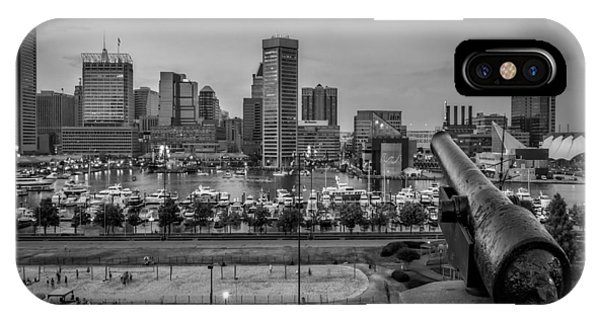 Federal Hill In Baltimore Maryland IPhone Case