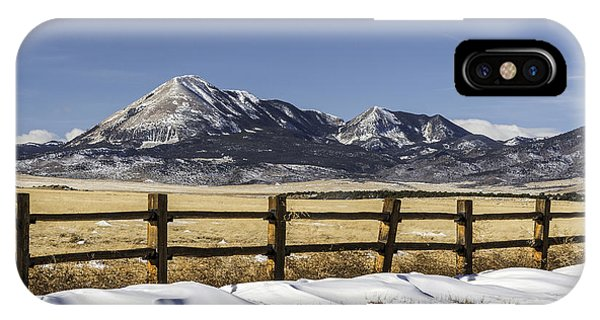 Fence Line IPhone Case