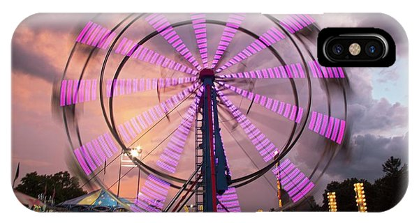 Chatham iPhone Case - Ferris Wheel Fairground Ride by Jim West