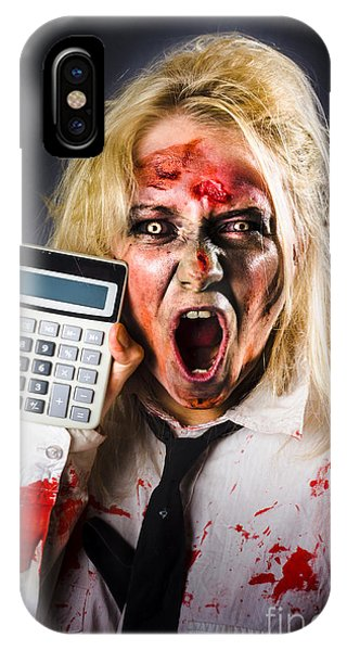 Finance iPhone Case - Finance Tax Accountant. Return From The Dead by Jorgo Photography - Wall Art Gallery