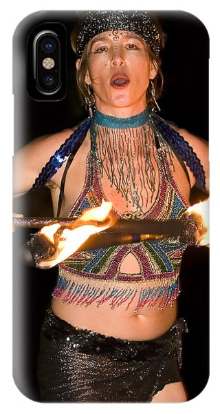 Fire Dance Phone Case by Don Ewing