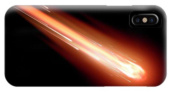 Fire Ball iPhone Case - Fireball by Detlev Van Ravenswaay