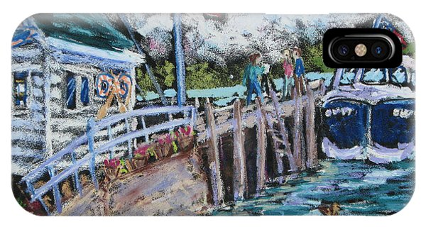 Fish Creek Boat Launch Phone Case by Madonna Siles