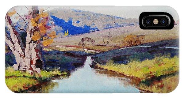 Creek iPhone Case - Fish River Tarana by Graham Gercken