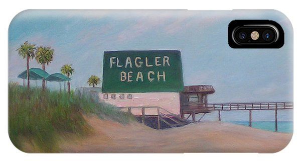 Flagler Beach Florida IPhone Case
