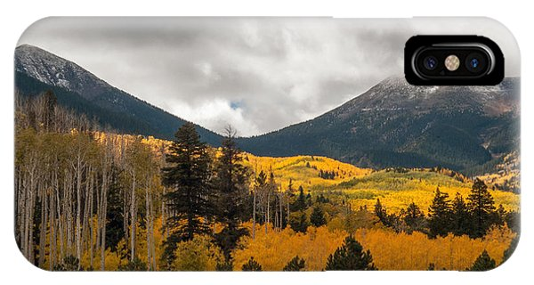 Flagstaff Fall Color IPhone Case