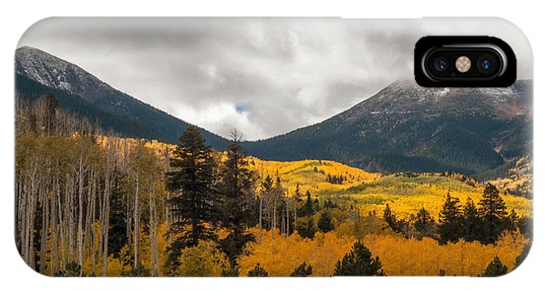 IPhone Case featuring the photograph Flagstaff Fall Color by Tam Ryan
