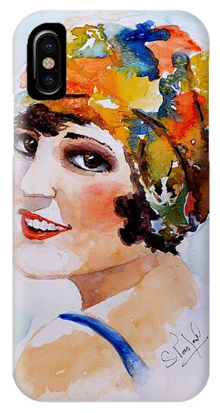 Flappers Girl IPhone Case