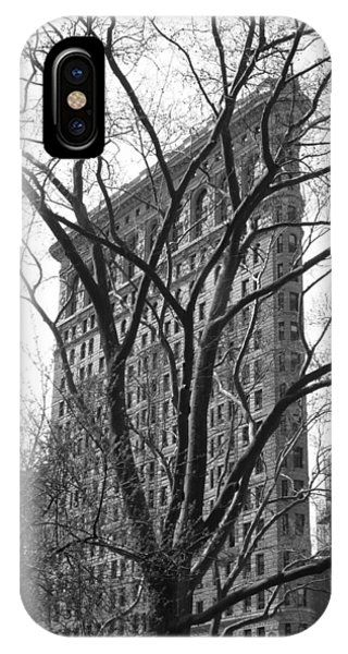 Flat Iron Tree IPhone Case