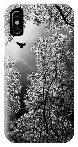Escape iPhone Case - Flight by Goran Stamenkovic