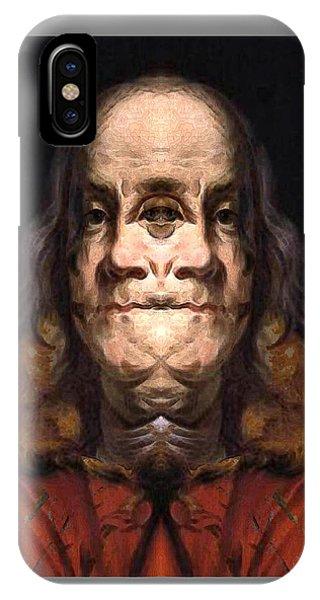 Flipped Ben 2 IPhone Case