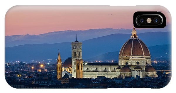 Florence At Sunset IPhone Case