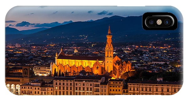 Florence City At Night IPhone Case