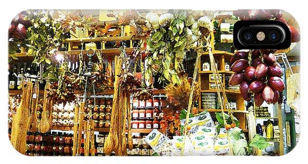 Shelves iPhone Case - Florence Market by Irina Sztukowski