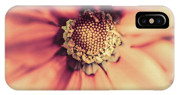 Close Focus Floral iPhone Case - Flower Beauty II by Marco Oliveira