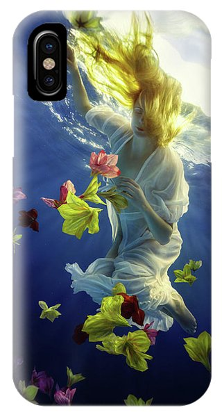 Flow iPhone Case - Flower Fantasy by Dmitry Laudin
