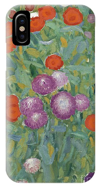 Elegant iPhone Case - Flower Garden by Gustav Klimt