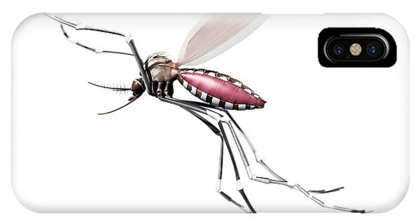 Flying Mosquito Phone Case by Sciepro/science Photo Library