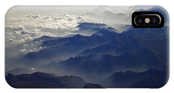 Flying Over The Alps In Europe IPhone Case