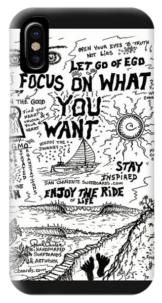 Focus On What You Want IPhone Case