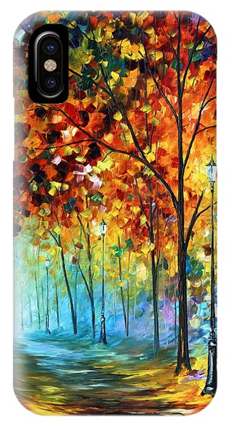 iPhone Case - Fog Alley by Leonid Afremov
