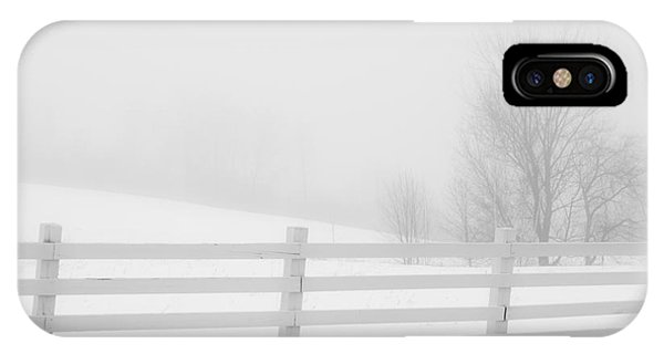 Foggy Winters Day IPhone Case