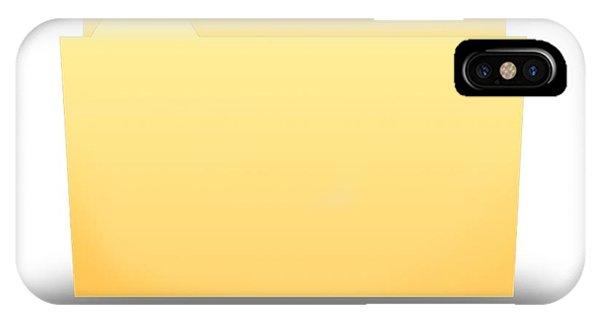 Folder IPhone Case