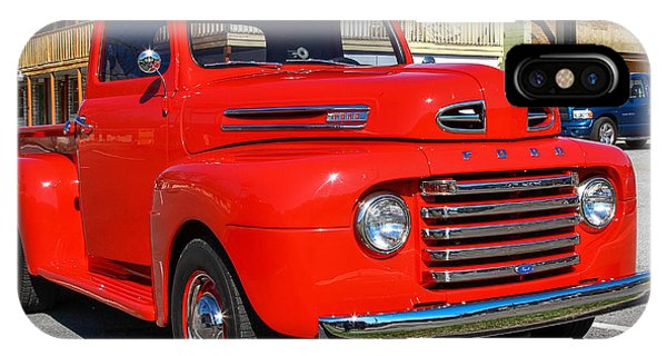 IPhone Case featuring the photograph Ford Truck by Robert L Jackson