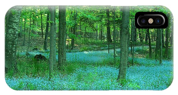 Forget-me-nots In Peninsula State Park IPhone Case