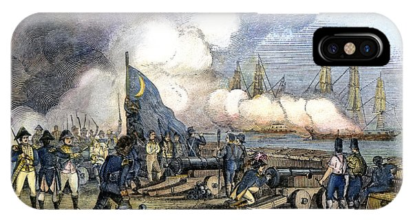 Fort Moultrie Battle, 1776 IPhone Case