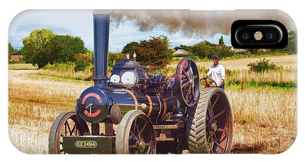 Fowler Ploughing Engine IPhone Case