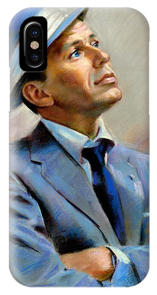 Bass iPhone Case - Frank Sinatra  by Ylli Haruni