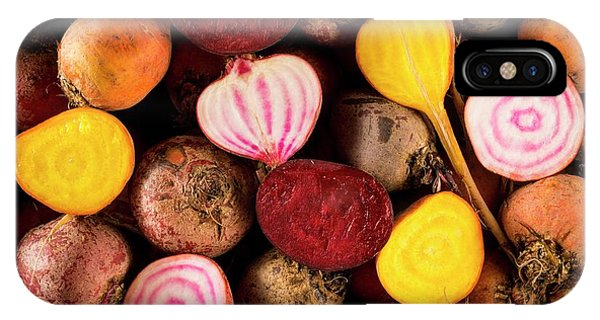 Fresh Beetroot And Red Onions IPhone Case