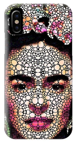 Frida Kahlo Art - Define Beauty IPhone Case