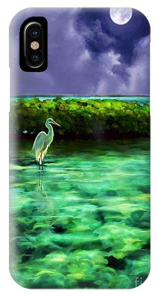 Full Moon Fishing IPhone Case