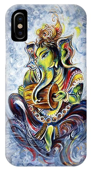 Musical Ganesha IPhone Case