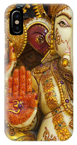 Ornate Ganesha IPhone Case