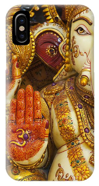Spirituality iPhone Case - Ornate Ganesha by Tim Gainey