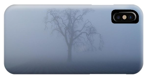 Garry Oak In Fog  IPhone Case