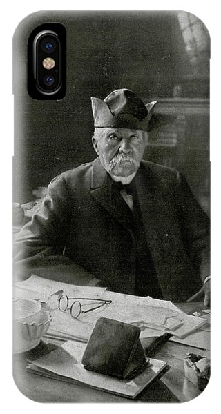 Georges Clemenceau  French Statesman Phone Case by Mary Evans Picture Library