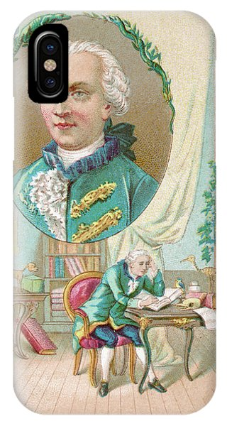 Georges-louis Leclerc Alias Buffon Phone Case by Mary Evans Picture Library