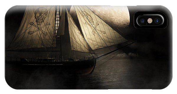 Ghost Ship IPhone Case