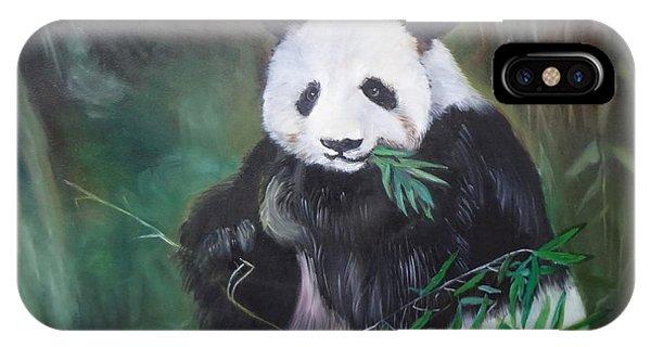 Giant Panda 1 IPhone Case