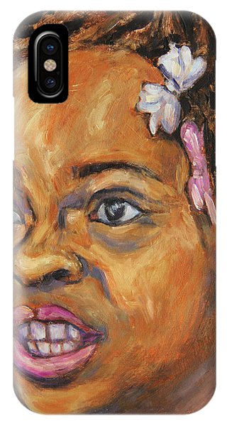 Girl With Dread Locks IPhone Case