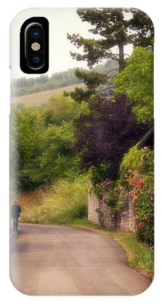 Giverny Country Road IPhone Case