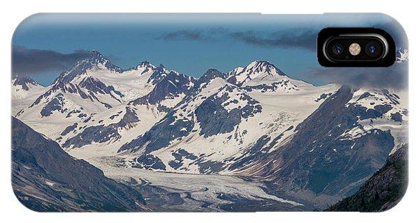 Glacier Bay iPhone Case - Glacier Bay Alaska by Tom Norring