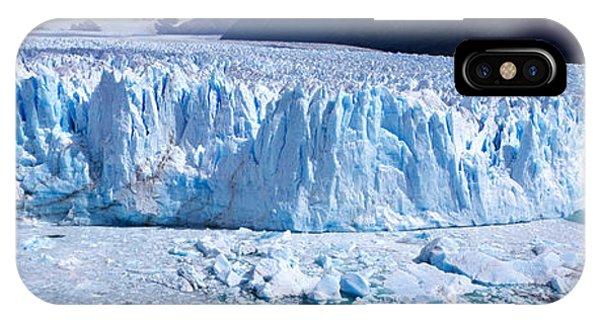 Glacier Bay iPhone Case - Glacier, Moreno Glacier, Argentine by Panoramic Images