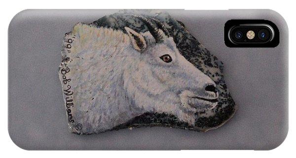 Glacier Park Mountain Goat IPhone Case